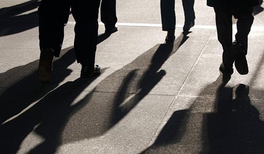 walking the shadows